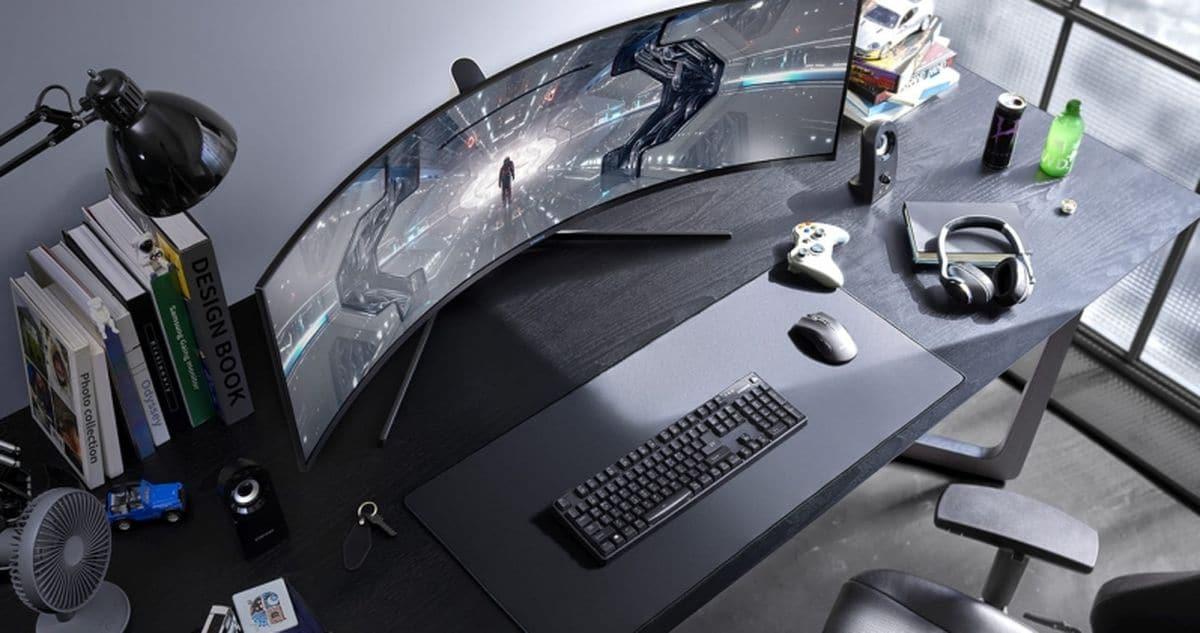 écran Samsung Odyssey G9 C49G95T