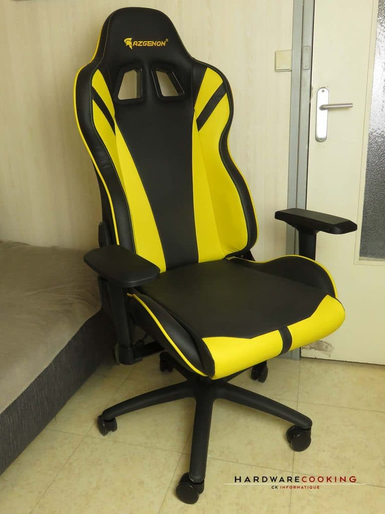 test fauteuil AZGENON Z300