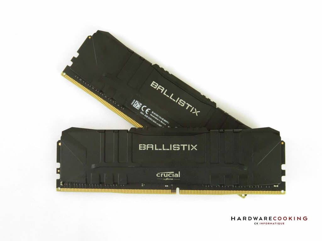 Test Crucial BALLISTIX 2x8 Go DDR4-3600