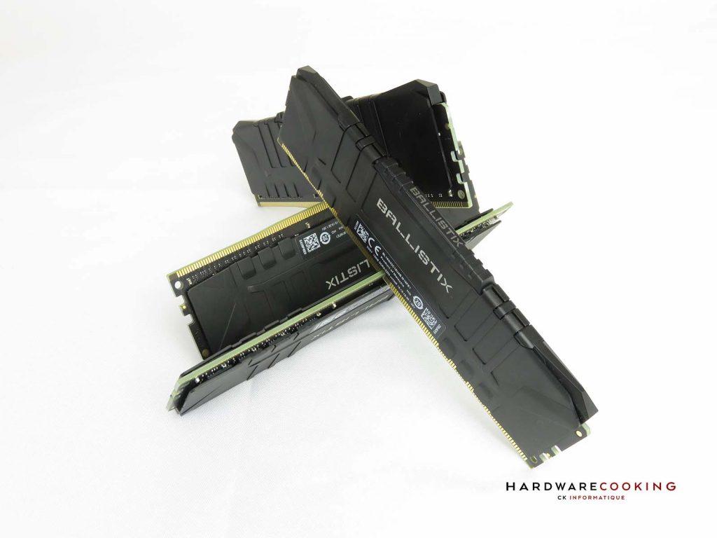 test DDR4 Crucial BALLISTIX