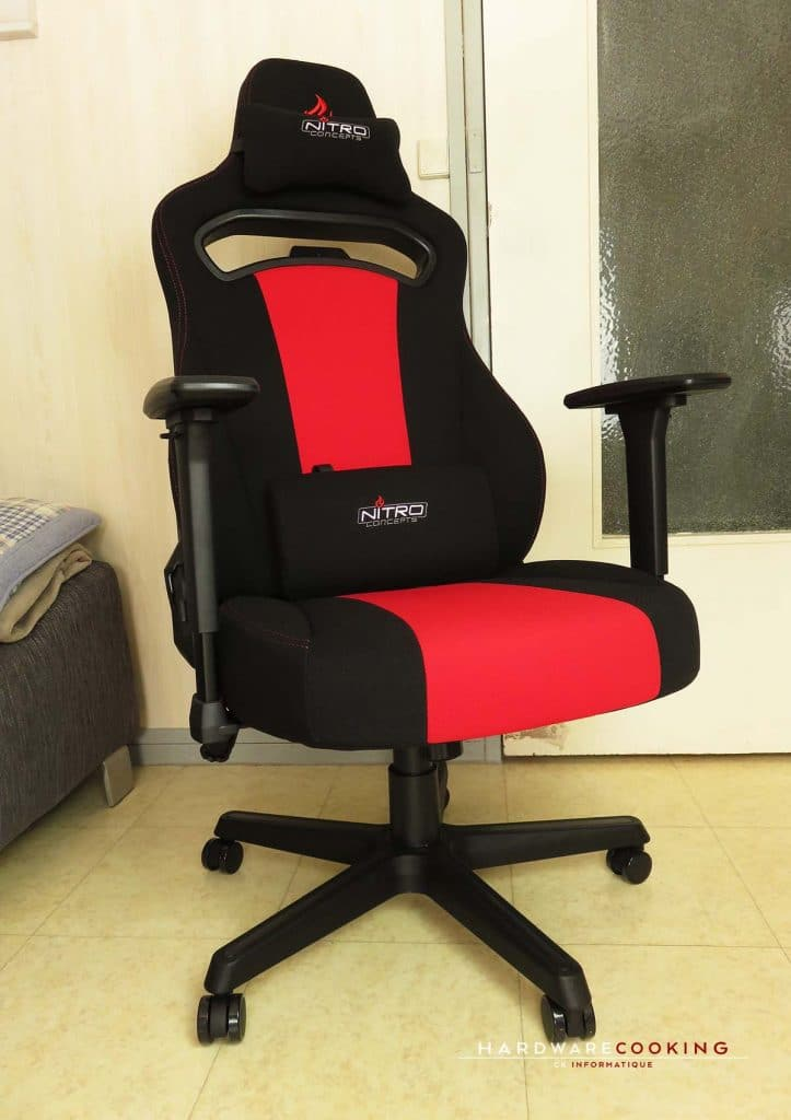 test fauteuil Nitro Concepts E250