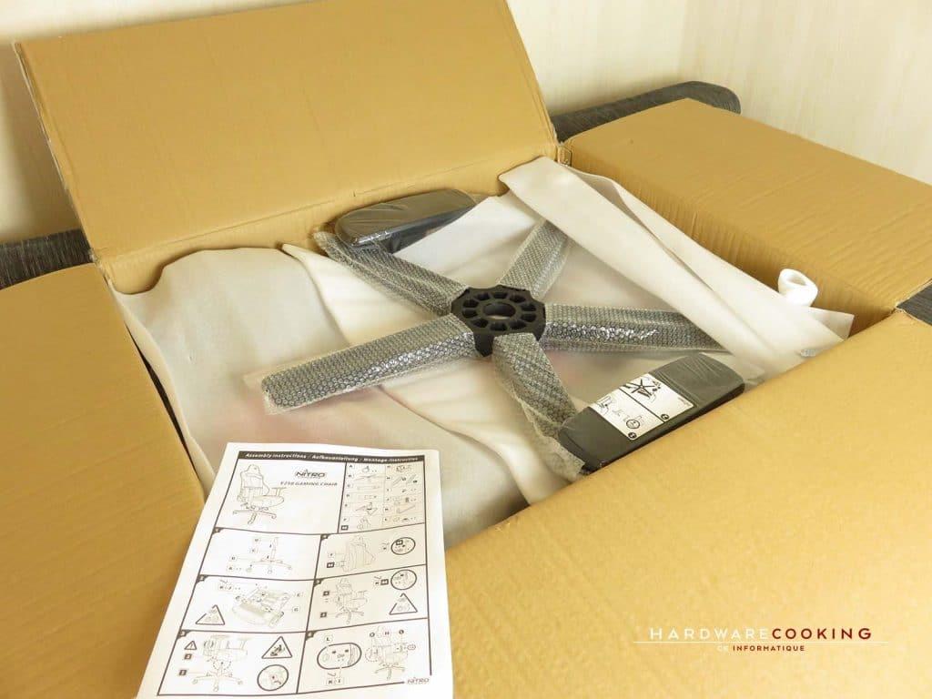 déballage carton E250