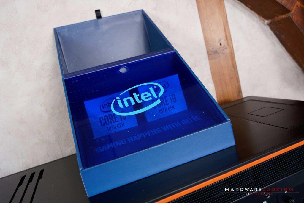 kit presse processeurs Intel Core i9-10900K et i5-10600K