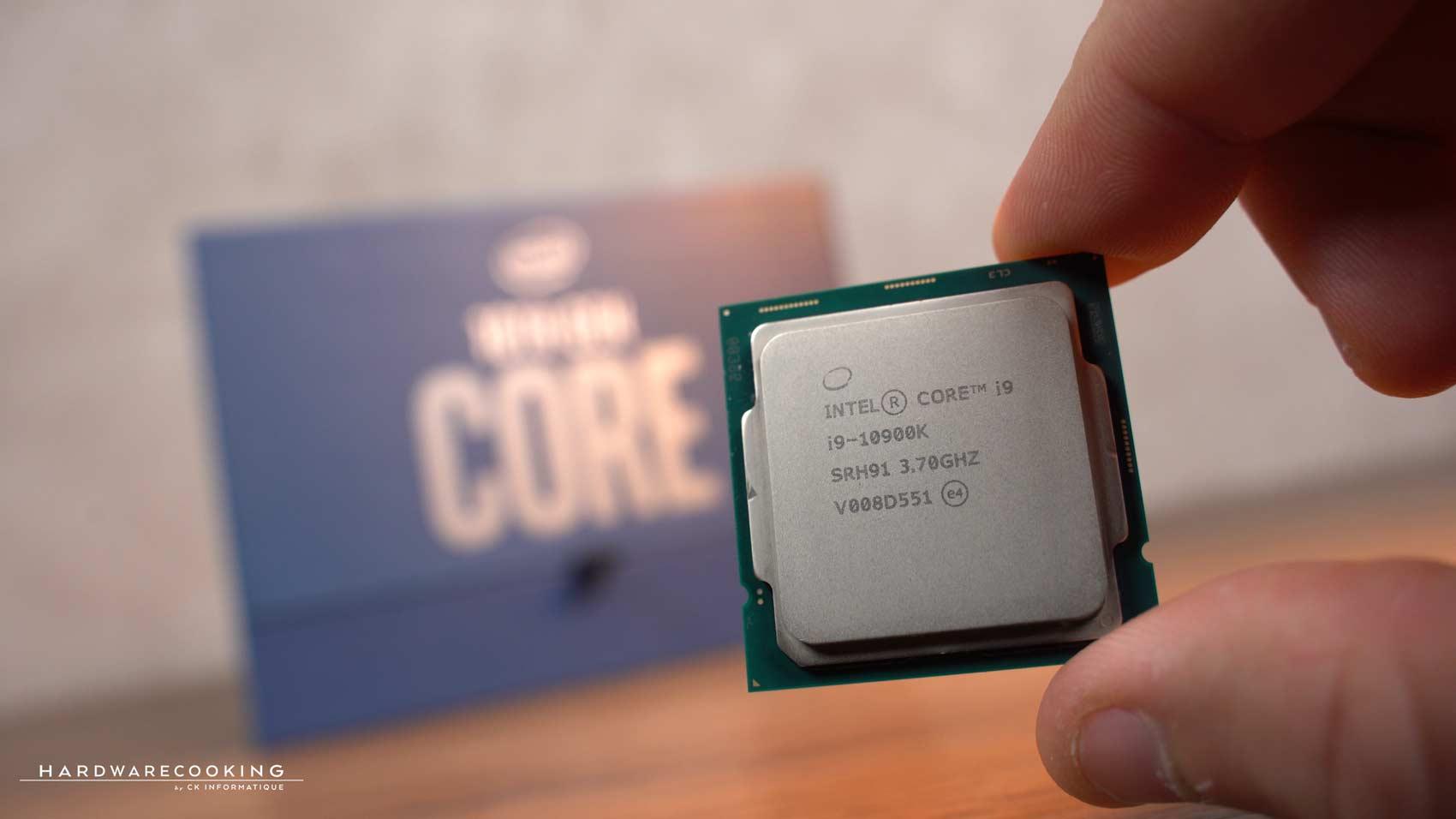 Test processeur Intel Core i9-10900K
