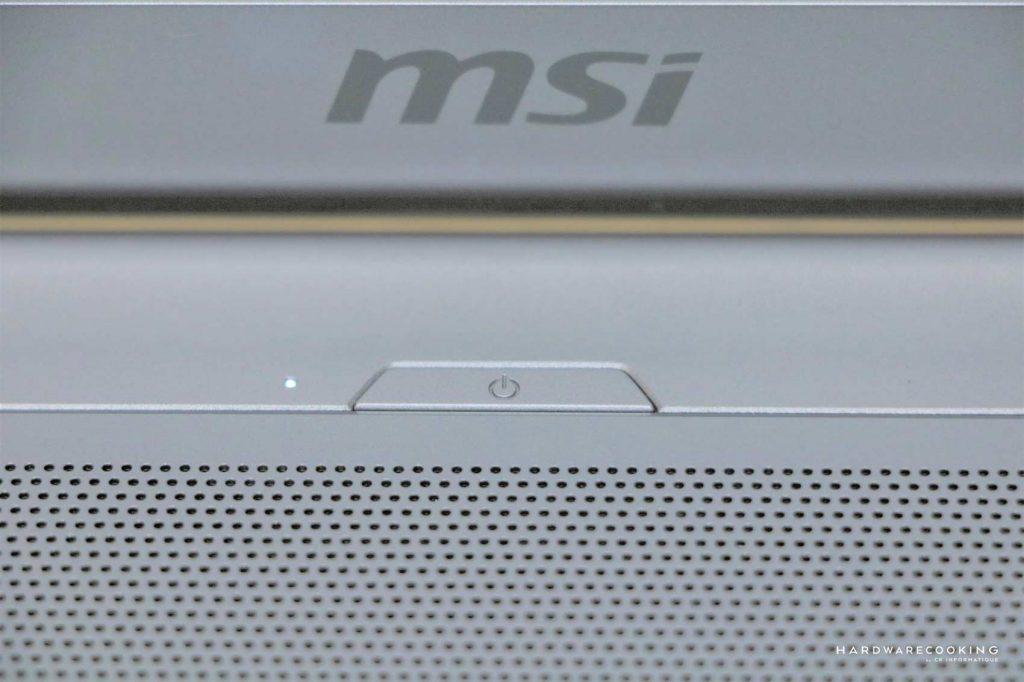test MSI P75 Creator 9SF-866FR