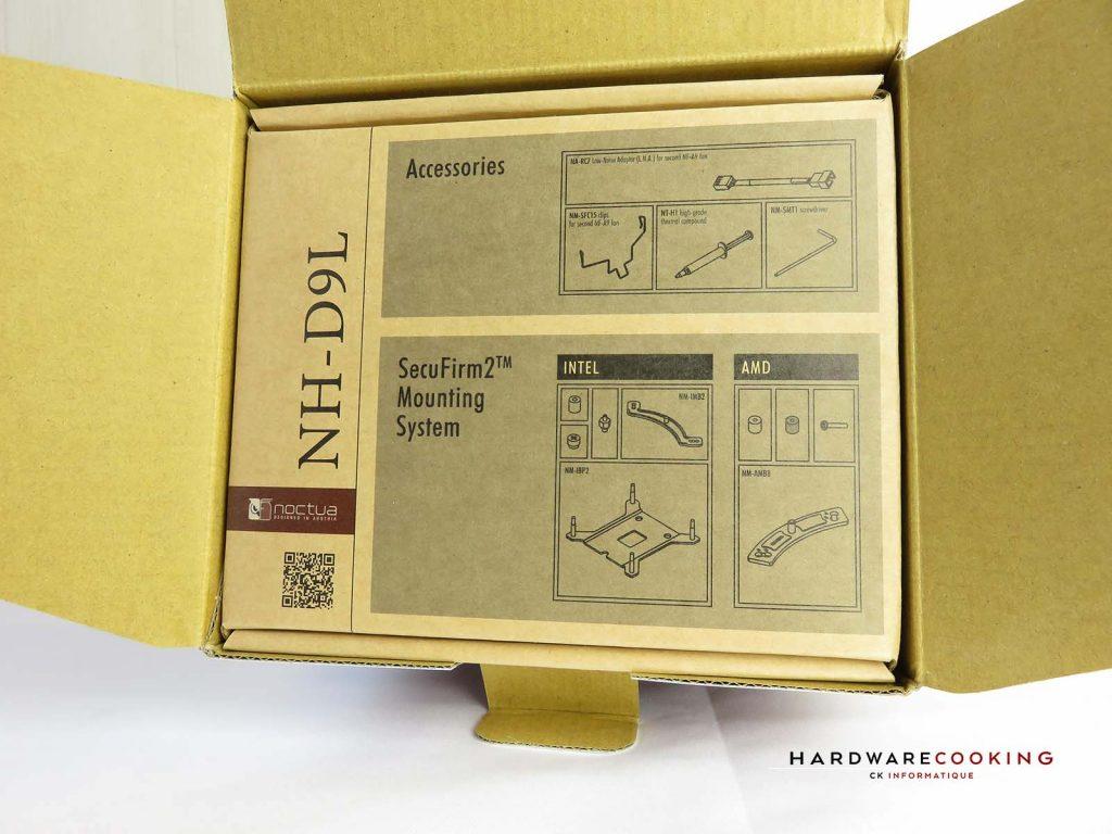 boîte accessoires NH-D9L