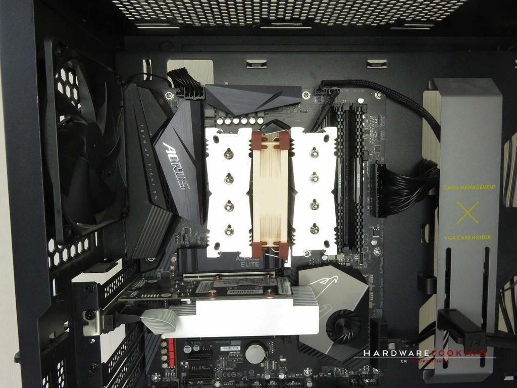 montage ventilateur