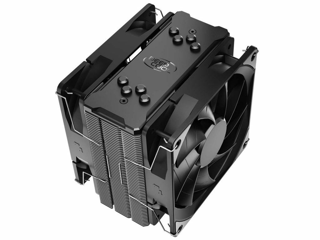 ventirad Deepcool GAMMAXX 400 EX vue caloducs