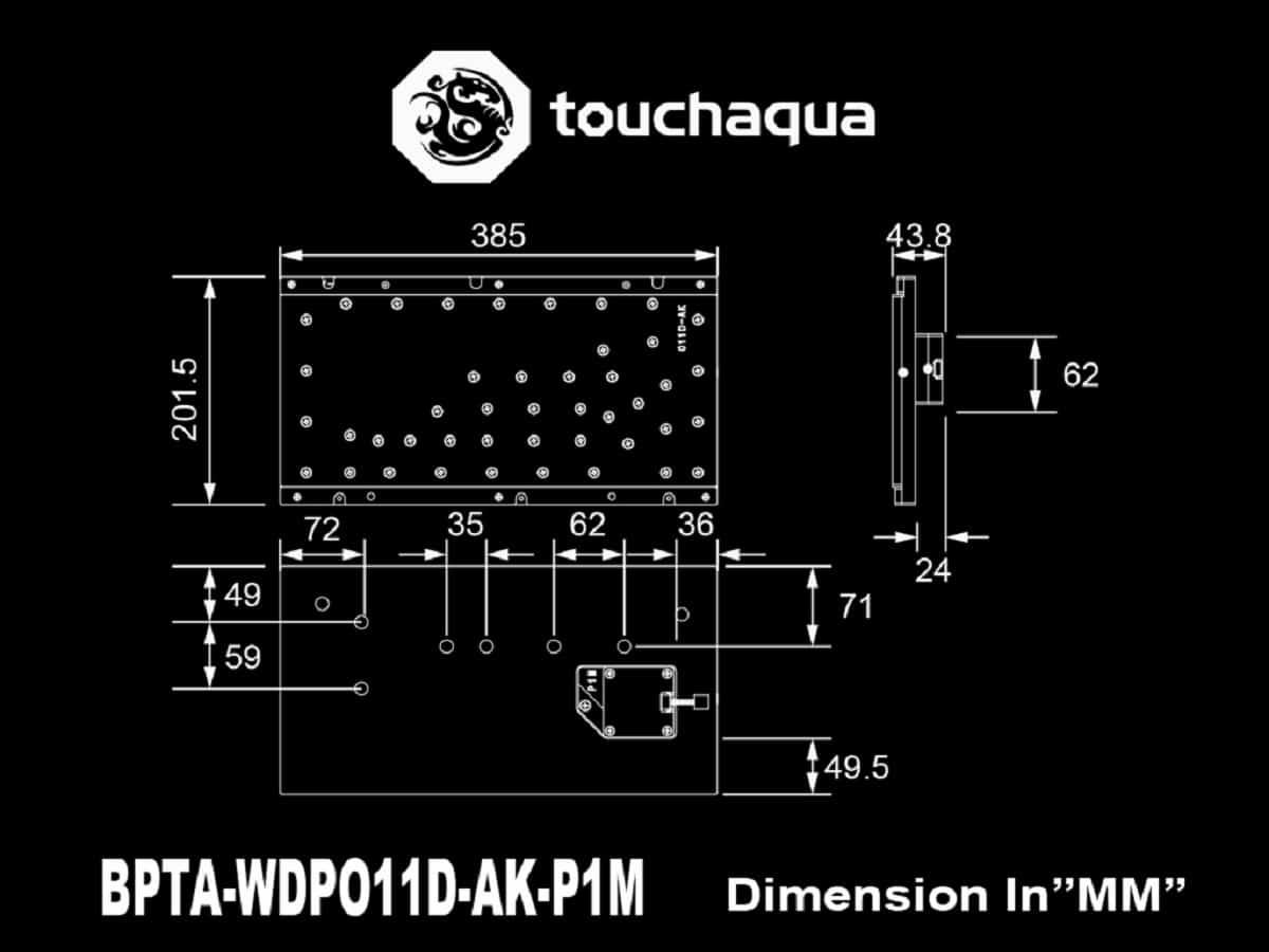 Touchaqua Sedna O11D Lite-F