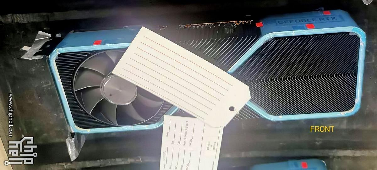 Refroidissement carte graphique NVIDIA RTX 3000