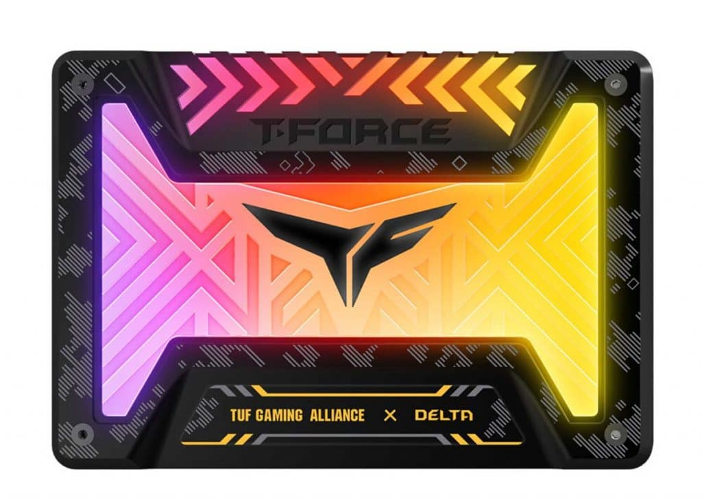SSD TEAMGROUP Delta TUF Gaming Alliance RGB