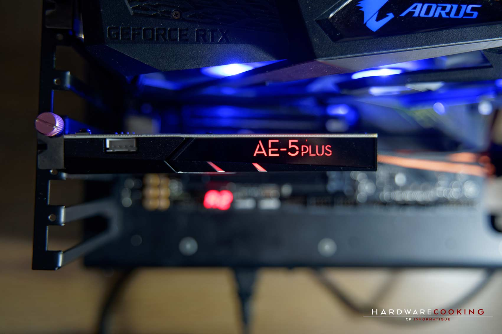 Test carte son Creative Sound BlasterX AE-5 Plus