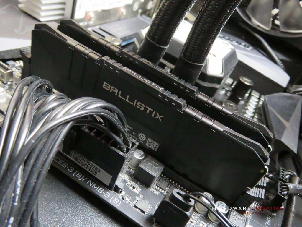 Test Crucial BALLISTIX 7zip 2 x 8 Go 3600 MHz