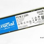 Test SSD Crucial P2 500 Go