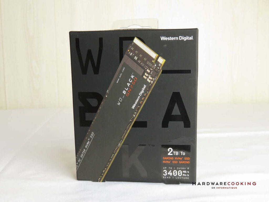 Boîte SSD SN750