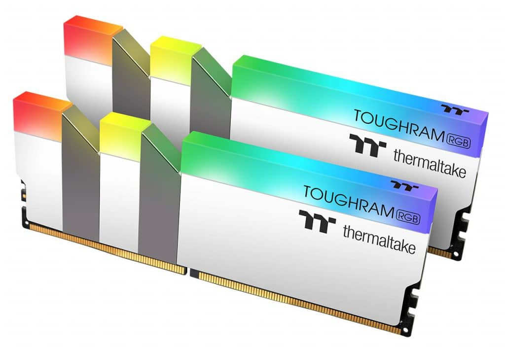 Thermaltake TOUGHRAM RGB blanc