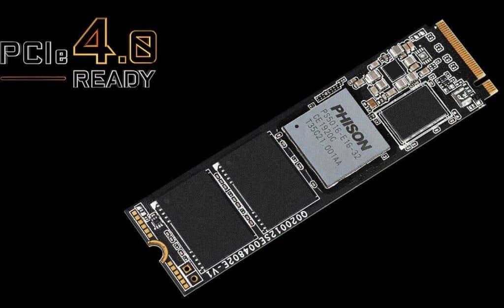 AORUS Gen4 SSD