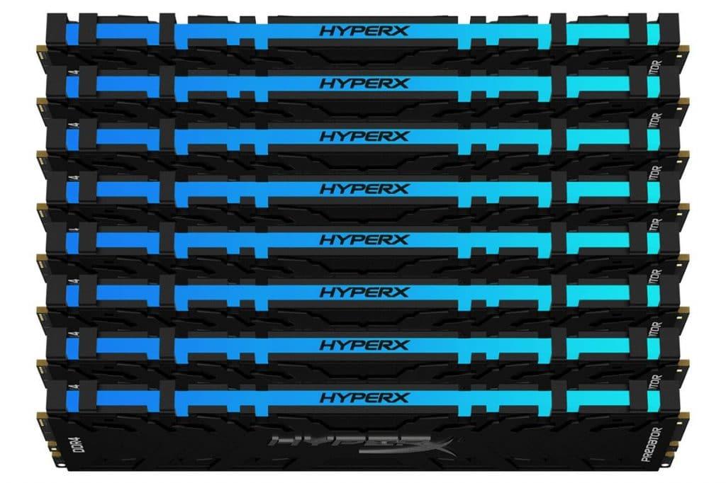 Kit mémoire HyperX 2560 Go