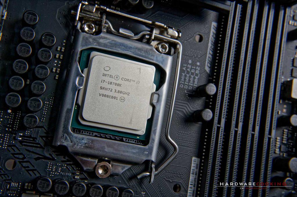 Prix Intel Core i7-10700K