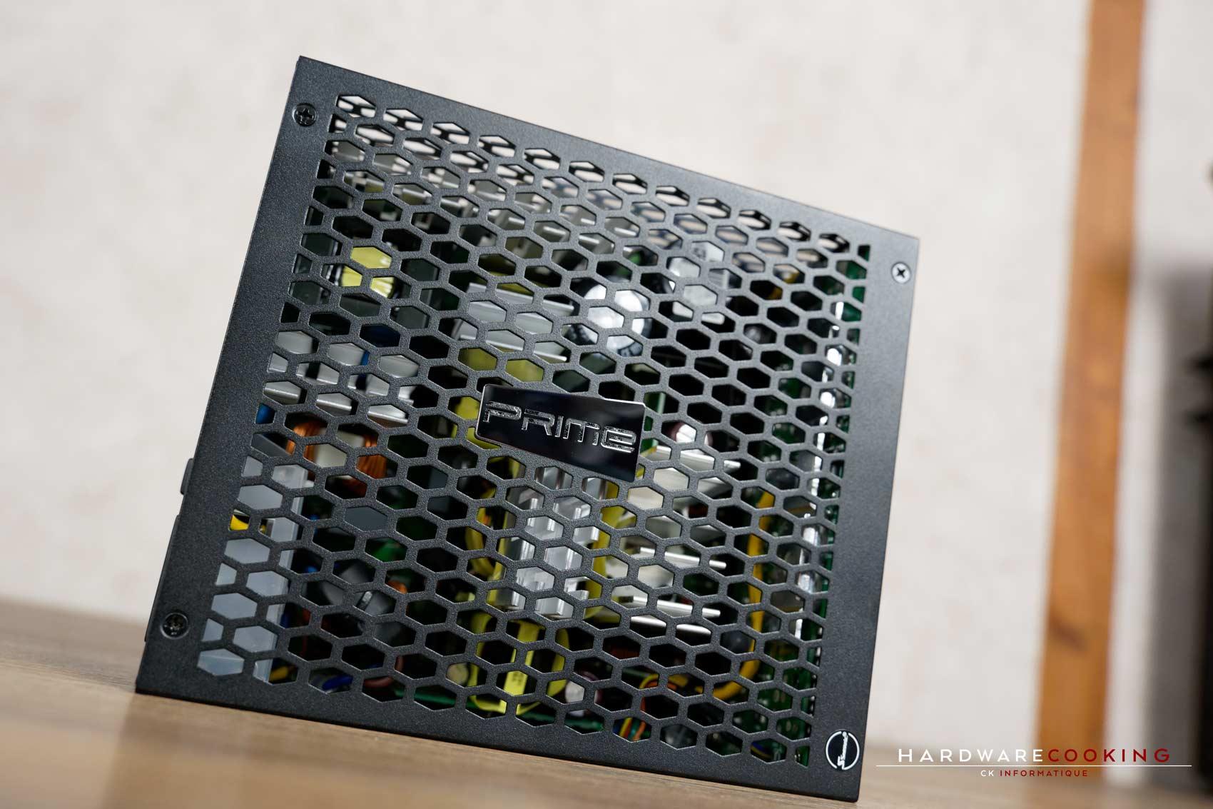 test alimentation SEASONIC Prime Fanless TX-700