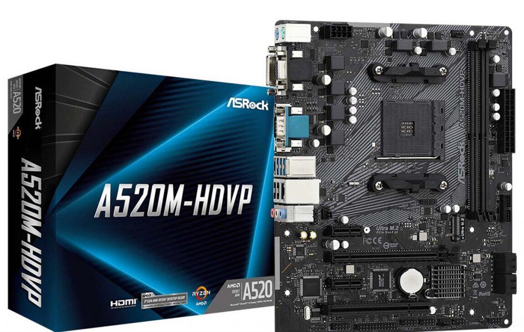 ASRock A520M-HDVP
