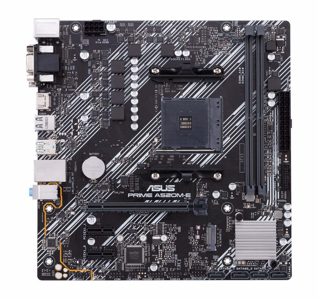 ASUS A520M-E
