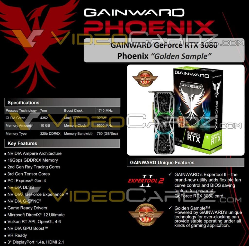 Gainward GeForce RTX 3080 Phoenix