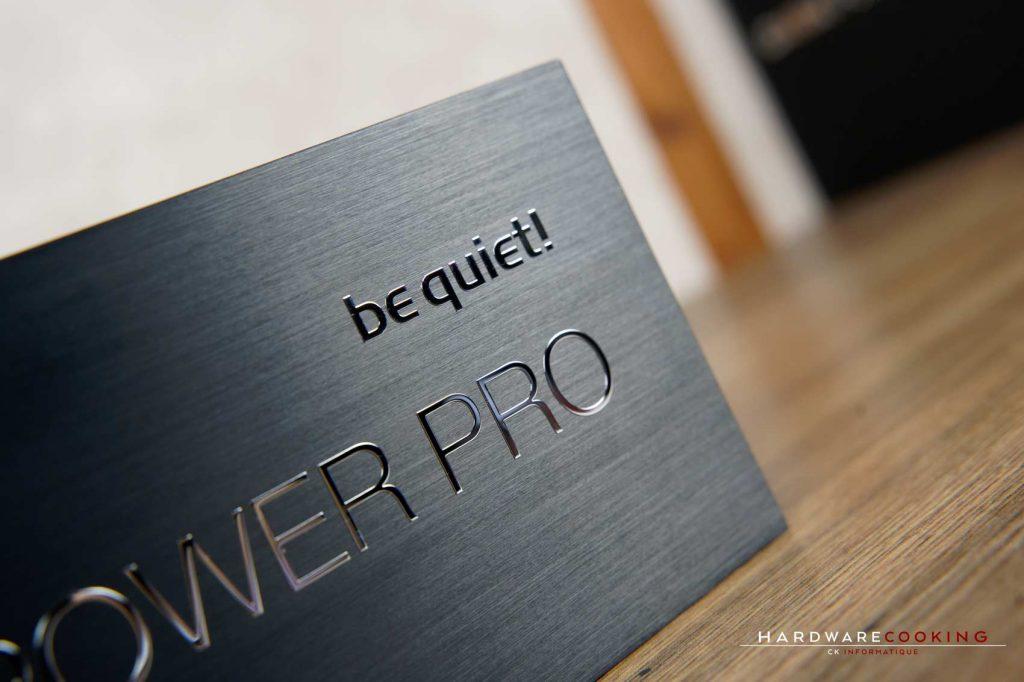 Test alimentation be quiet! Dark Power Pro 12