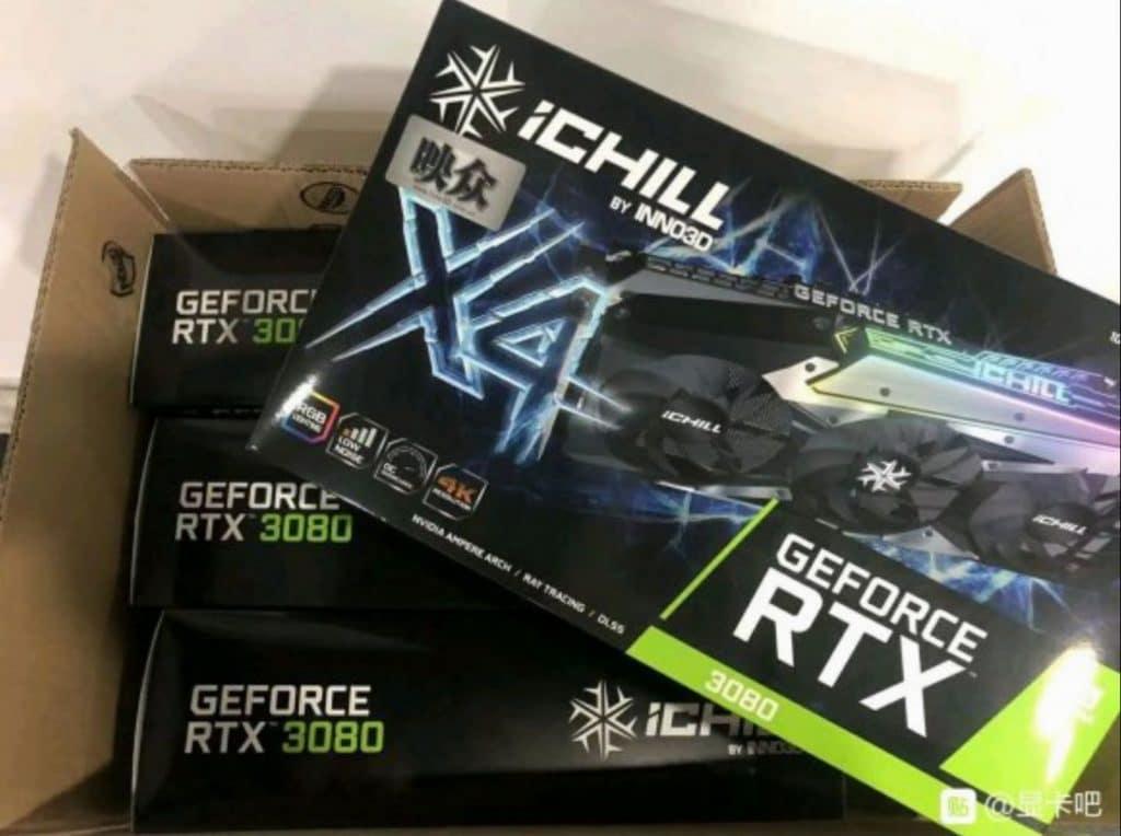 NVIDIA RTX 3080 mining