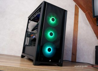 Test boîtier CORSAIR iCUE 4000X RGB