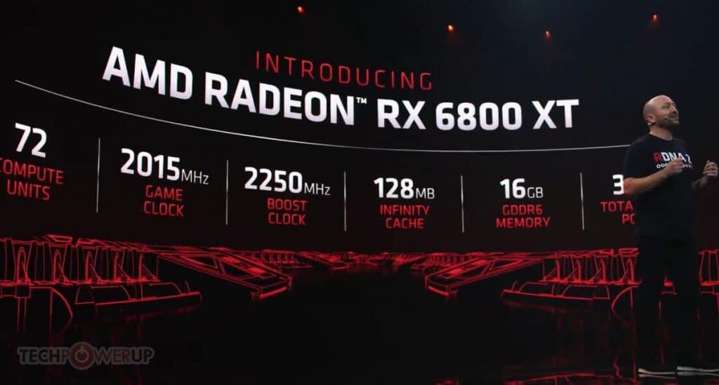 annonce AMD Radeon RX 6800 XT
