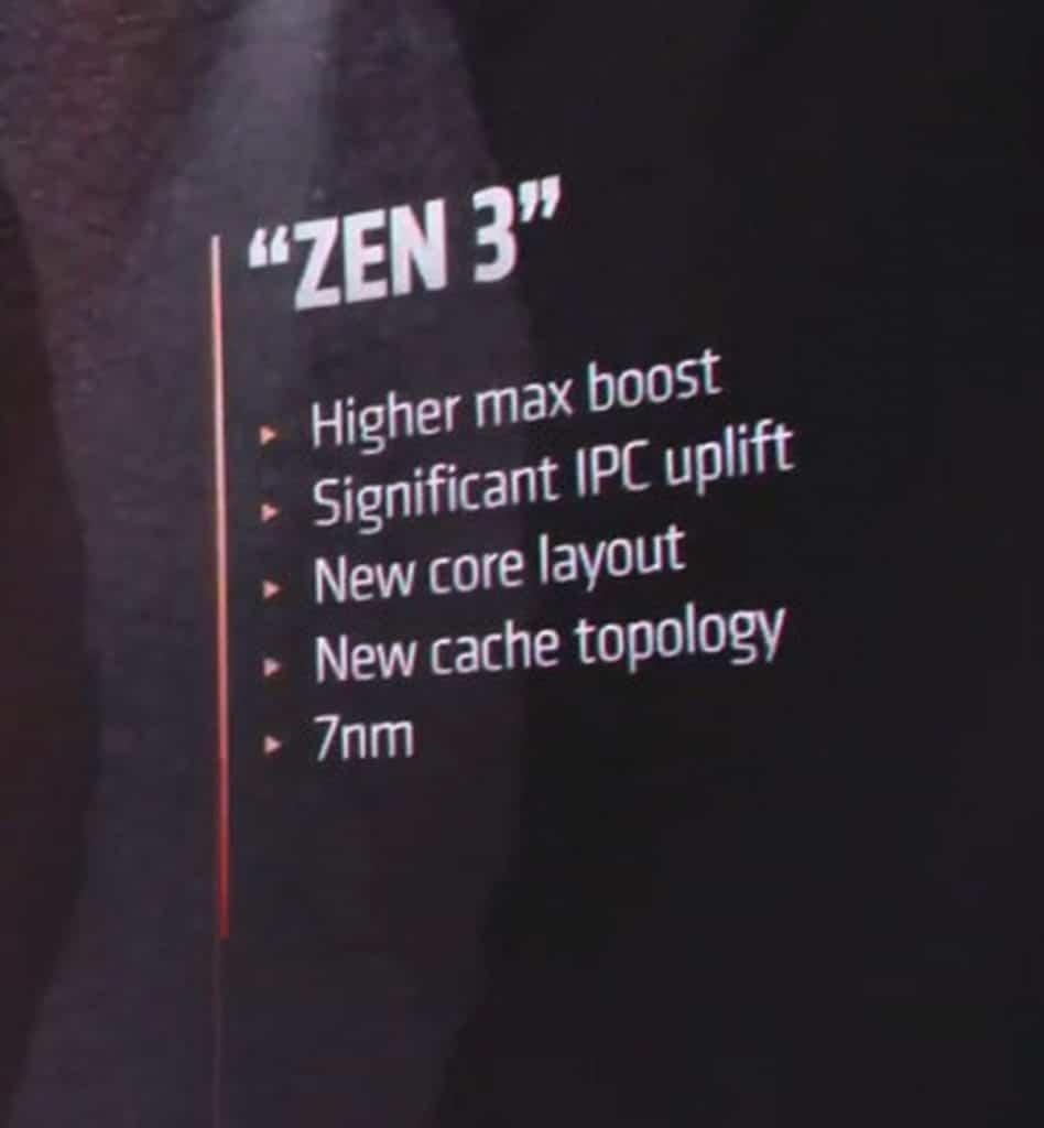 Annonce officielle AMD Ryzen 5000 Zen 3