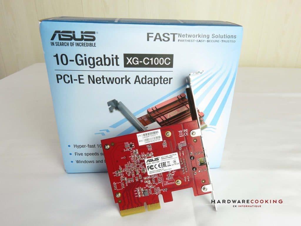 Carte réseau ASUS XG-C100C