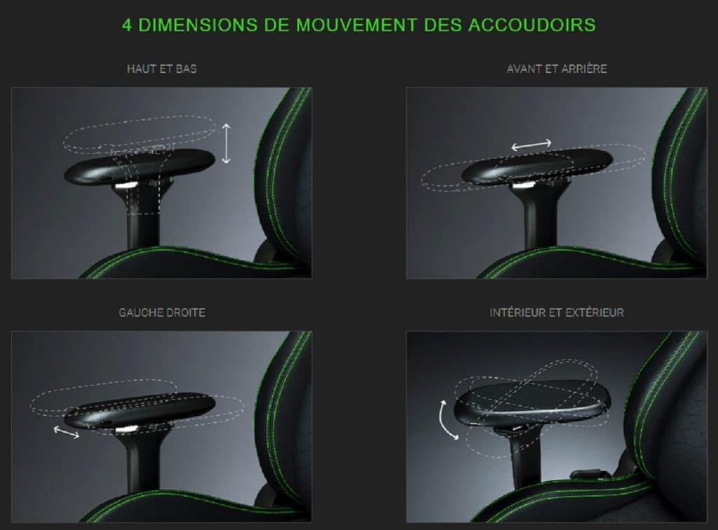 Accoudoirs 4D