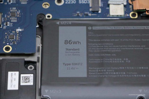 Batterie Alienware M17 R3
