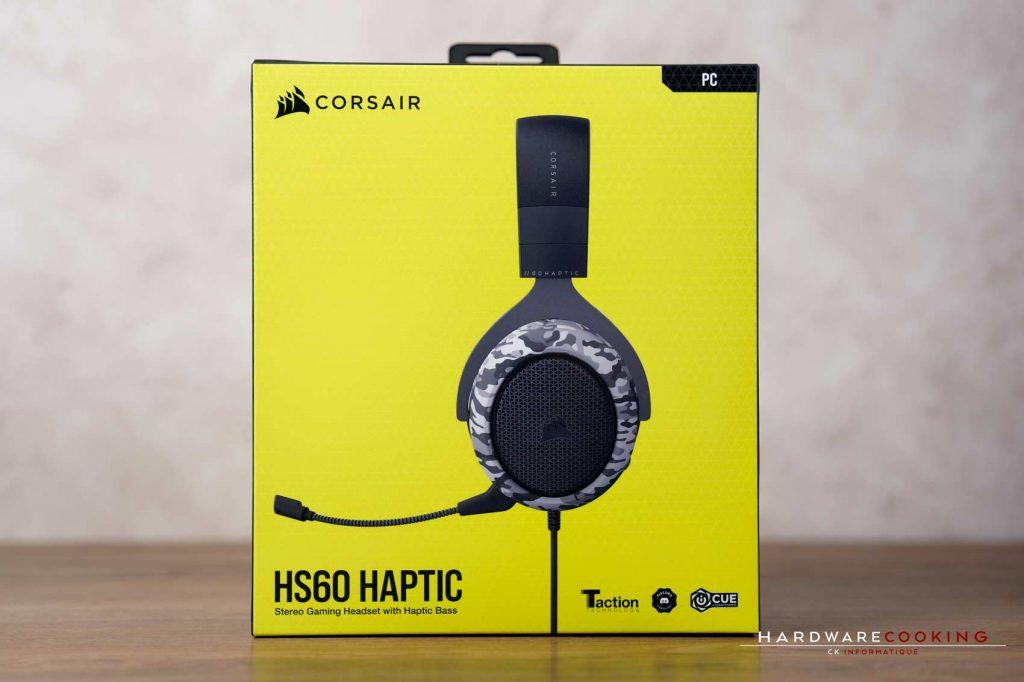 Test casque Corsair HS60 HAPTIC