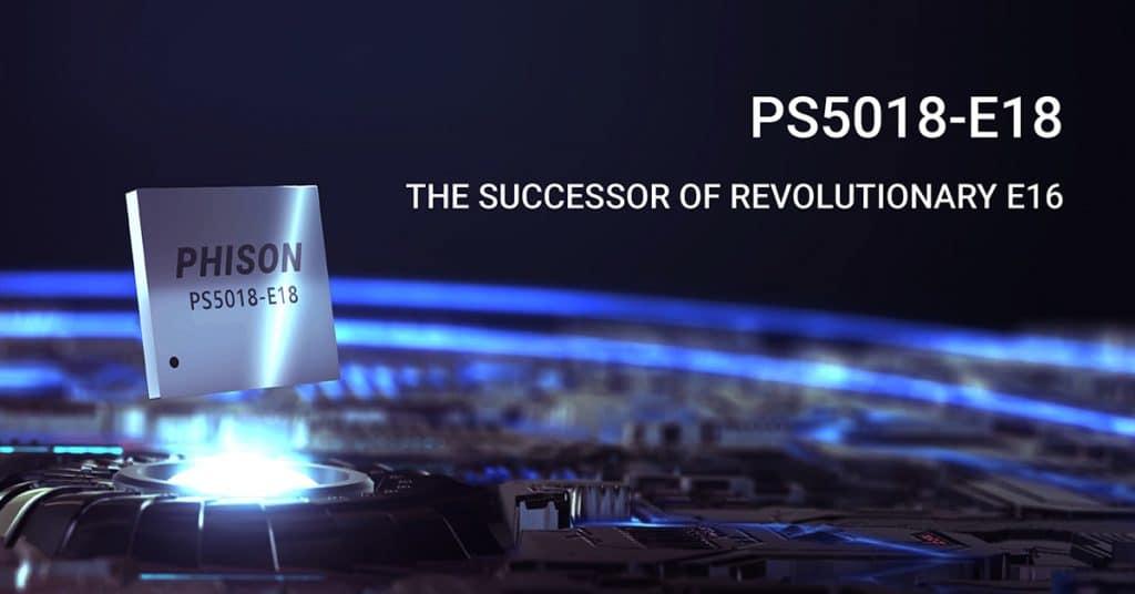 Contrôleur Phison PS5018-E18