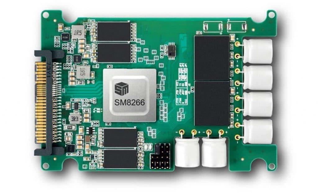 Contrôleur Silicon Motion SM8266