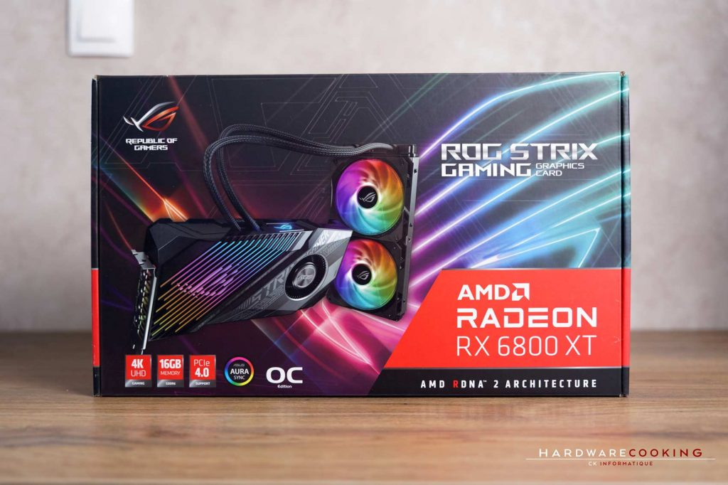 Carton ASUS ROG Strix LC RX 6800 XT