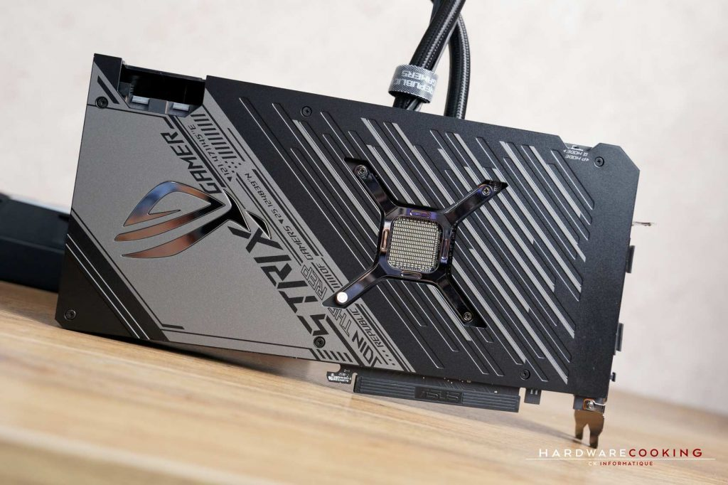 backplate ASUS ROG Strix LC RX 6800 XT OC