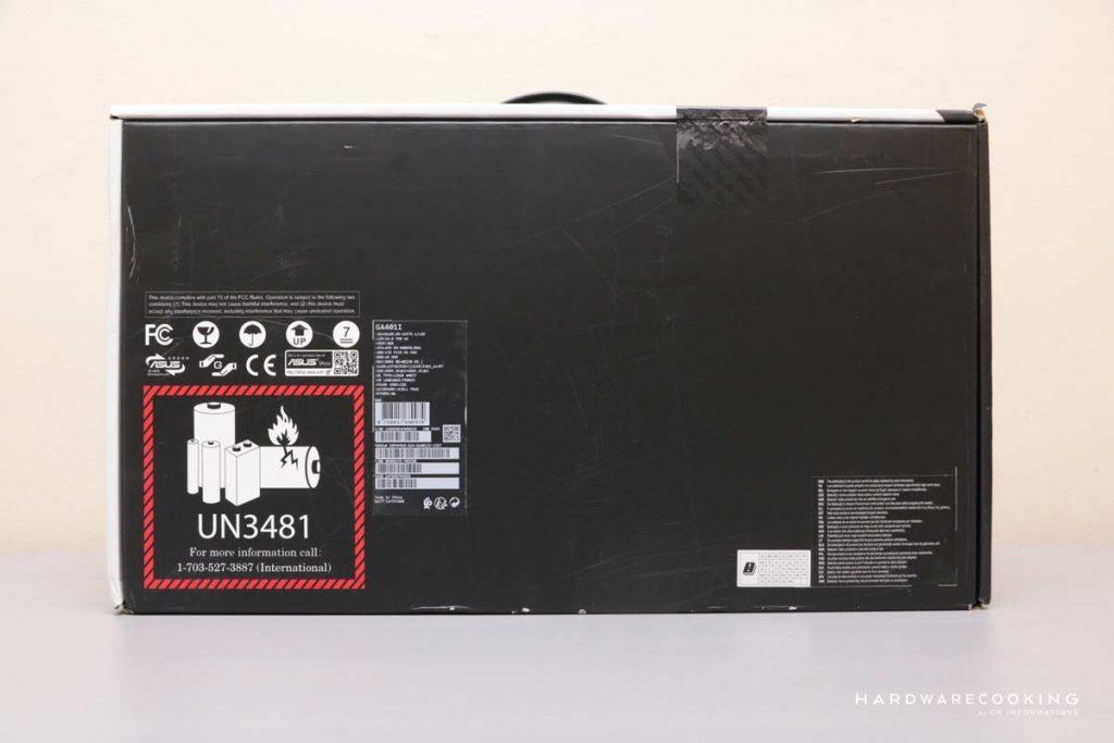 Boîte ASUS Zephyrus G14 GA401IV 135T
