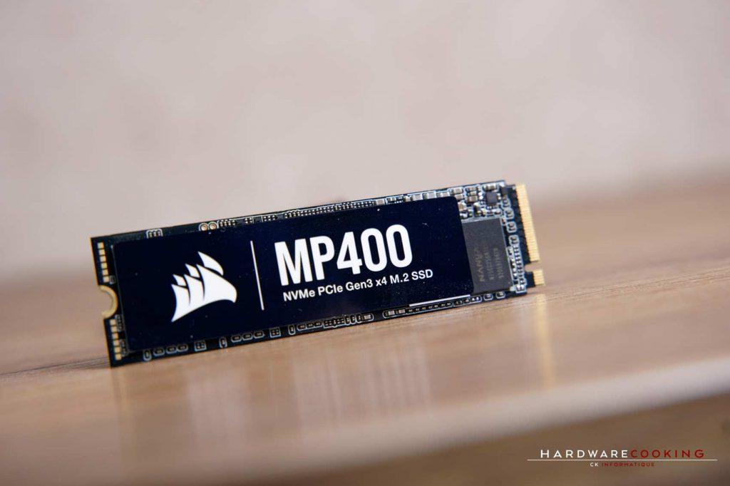Test SSD CORSAIR MP400