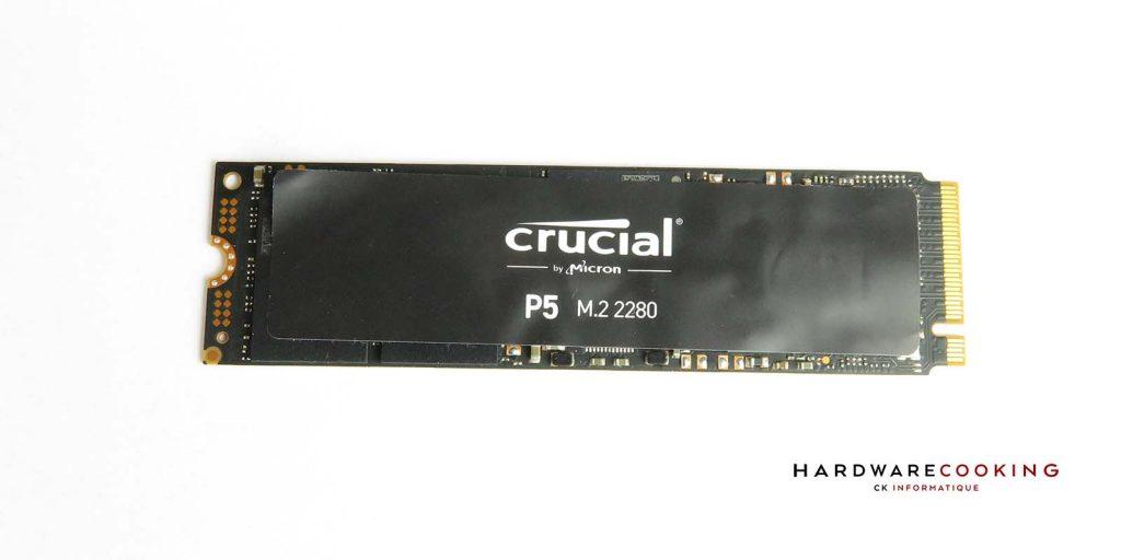 Test Crucial P5 500 Go