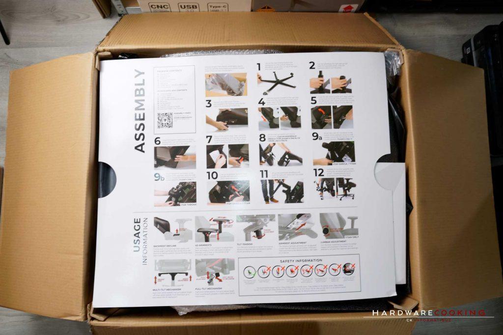 assemblage fauteuil Secretlab Titan