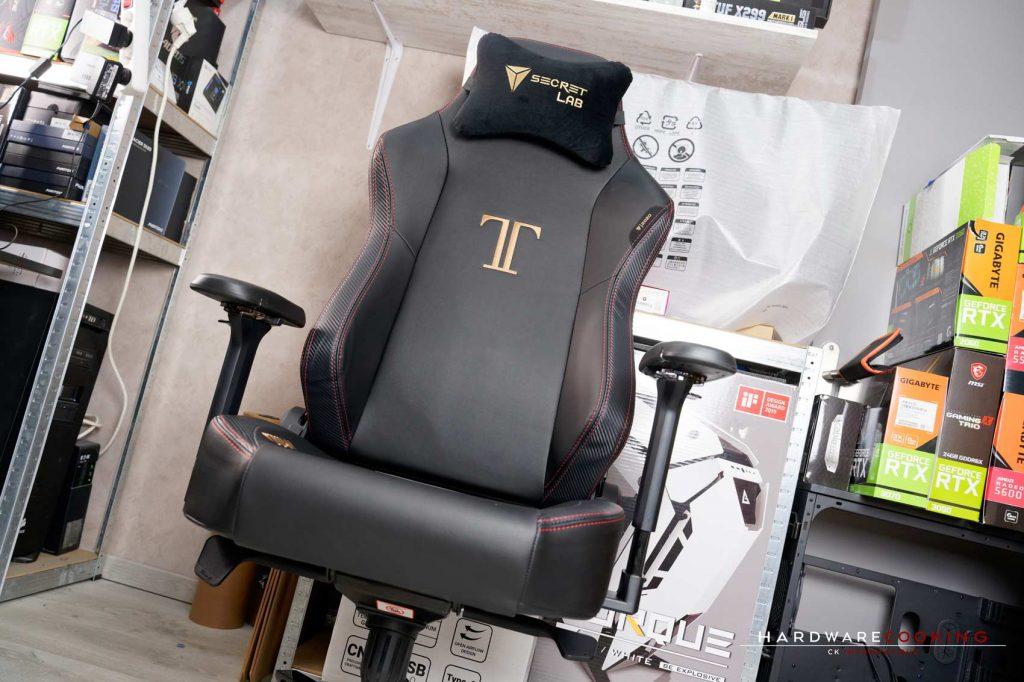 Test fauteuil Secretlab TITAN Stealth
