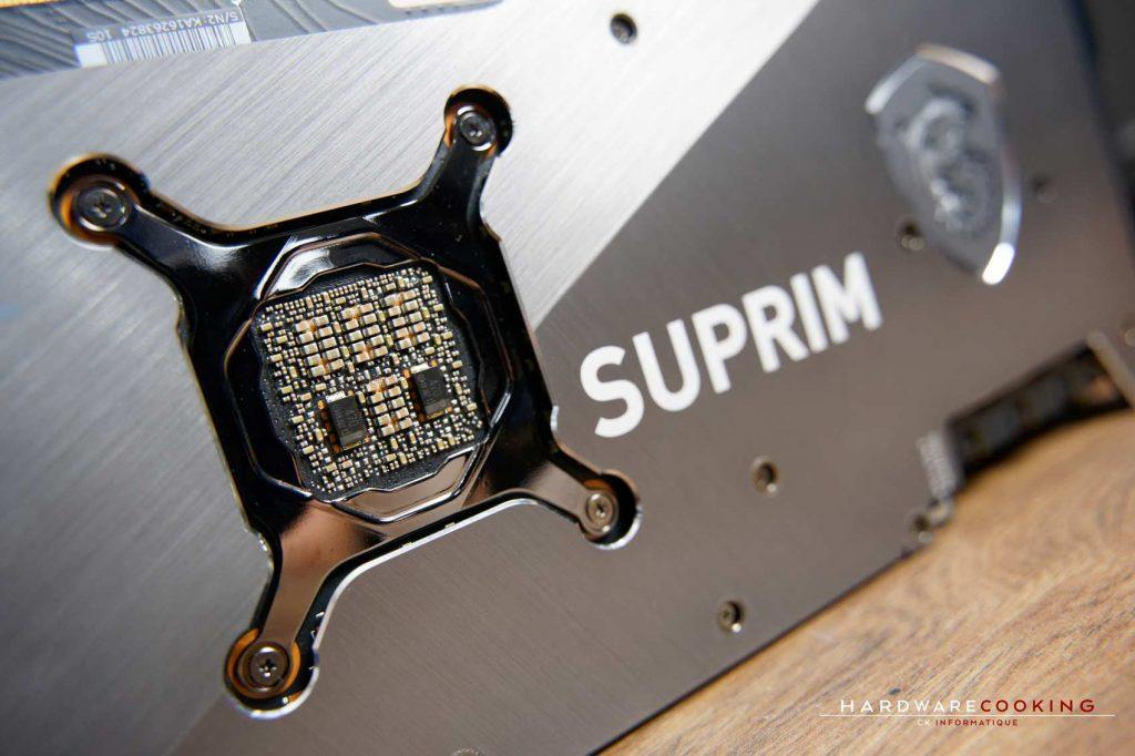 Condensateurs MSI SUPRIM X