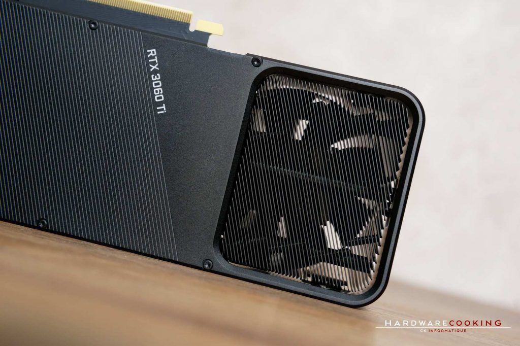 Système de refroidissement RTX 3060 Ti Founders
