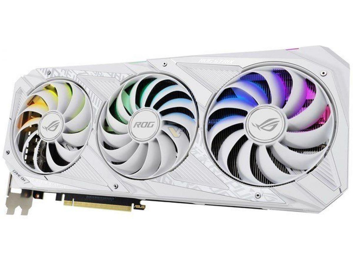 ASUS GeForce RTX 30 ROG STRIX WHITE