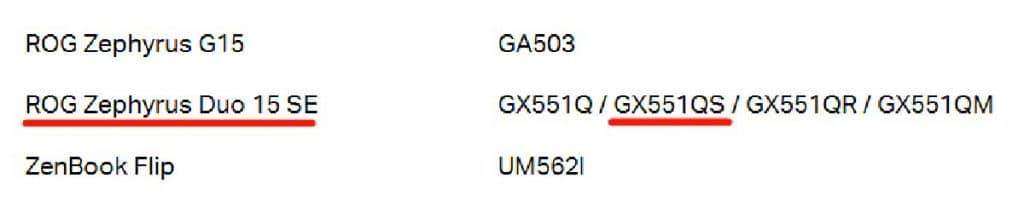 ASUS ROG Zephyrus GX551QS Dual Screen
