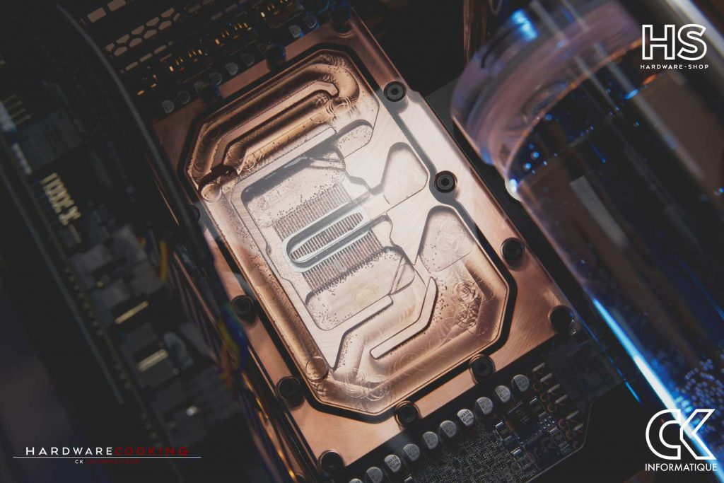 Build DPS watercooling custom Hardwarecooking CK Informatique RTX 3090